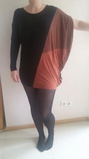 schwarz braunes Nikita Kleid in Größe S
