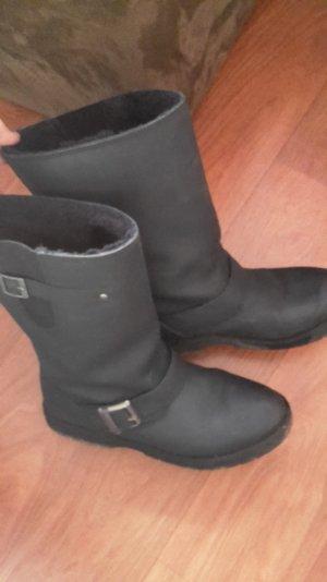 schwarz Buffalo Boots