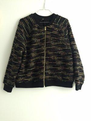 H&M Torera negro-color oro