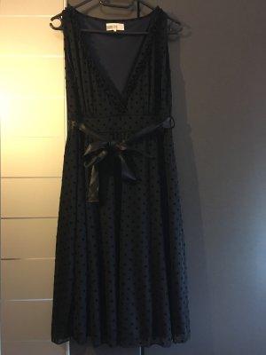 Schwarz dunkelblau schimmerndes Cocktailkleid