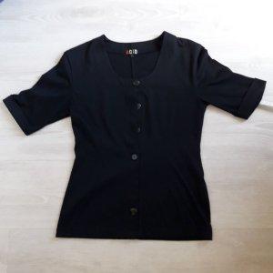 schwarz durchgeknöpft Cardigan Größe S