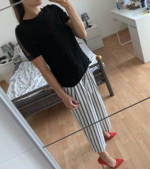 Schwarz elegant Bluse Zara