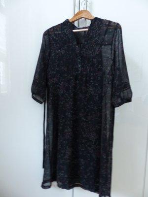 schwarz, geblümtes Kleid von Esprit