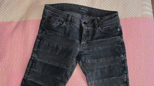 Schwarz gemusterte Jeans von Maje
