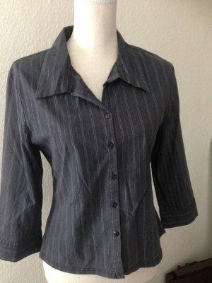 Schwarz gestreift Bluse