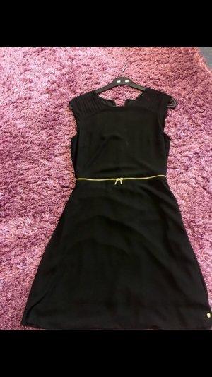 schwarz - gold Kleid