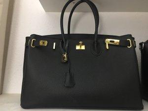 Schwarz goldene Bag