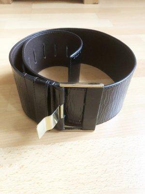 Schwarz goldener Taillengürtel