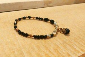 Schwarz goldenes Armband von BIBA
