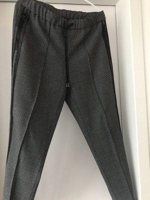 Cambio Wollen broek antraciet
