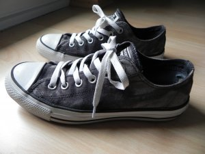 Schwarz-Grau melierte Chucks All Star