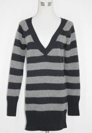 schwarz/grau Pullover
