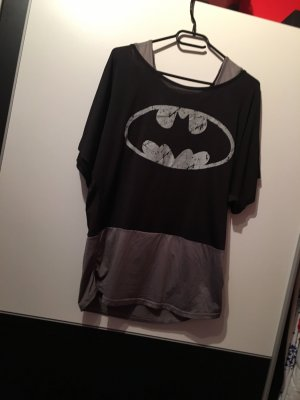 Chicwish T-Shirt black-grey