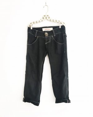 schwarz/graue chino / jeans style / vintage / miss sixty / edgy