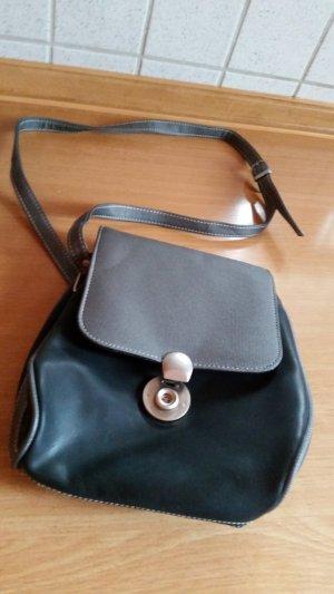 Schwarz / graue Handtasche