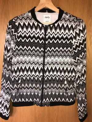 Schwarz-graue Jacke