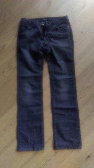 schwarz-graue Massimo Dutti Jeans