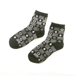 schwarz graue söckchen / socken / vintage / socksandsandals