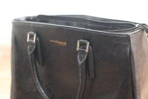 Schwarz/Graue Tasche Marc Adam New York