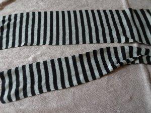 H&M Zomersjaal zwart-grijs