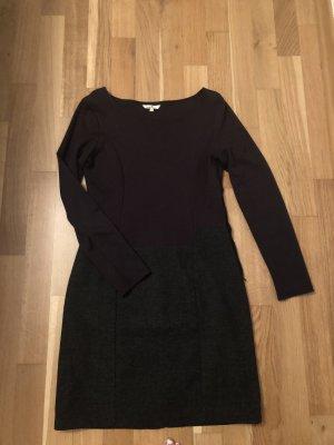 Schwarz/graues Kleid