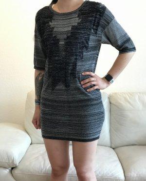 Schwarz-graues Kleid von Saint Tropez
