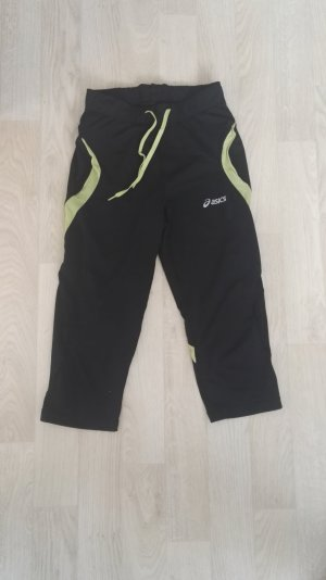 Asics Trackies black-neon green