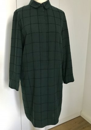Schwarz grünes COS Kleid