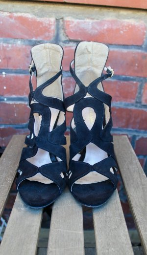 Schwarz High Heels / Sandalen