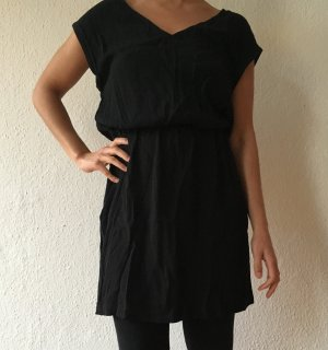 schwarz kleide etam size 38
