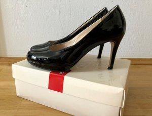 Schwarz Lackleder Schuhe von Högl - 39