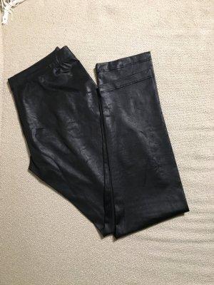 Schwarz Leggings mit Muster, M (fällt wie eine S aus)