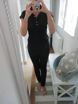Schwarz Neu Skinny Stretch Hose Größe 36