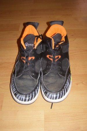 schwarz-orange Sneaker 38