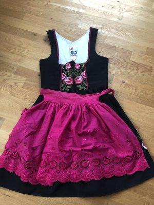 Rose Dirndl Off-The-Shoulder Dress multicolored
