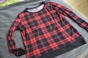 Schwarz/rot kariertes Shirt von Tally Weijl