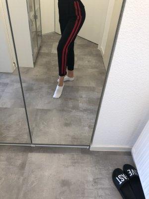Bershka Peg Top Trousers multicolored