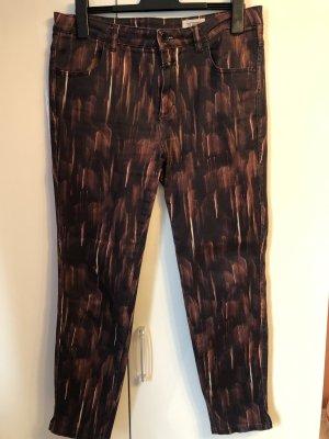 Schwarz rote Jeans Hose, Closed, Gr. 33 bzw. 42