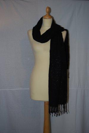 Pashmina multicolor fibra textil