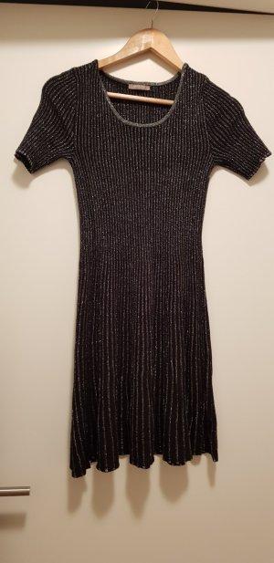 schwarz-silbernes Shirtkleid von Orsay