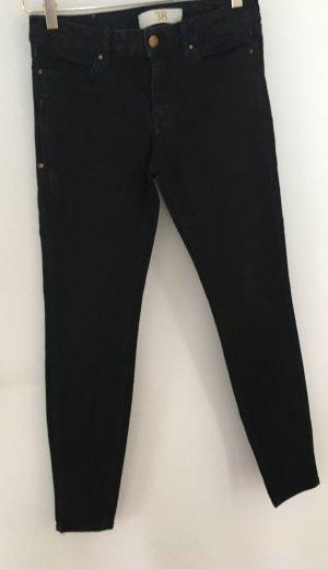 Schwarz Skinny Jeans