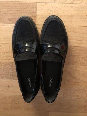 Schwarz Slipper