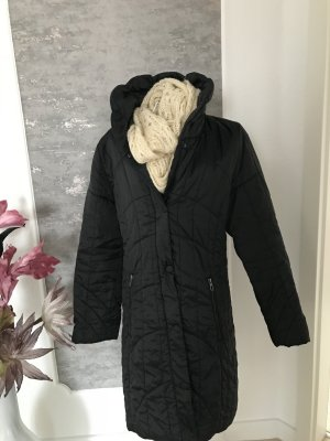 Betty Barclay Hooded Coat black polyester