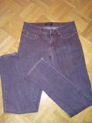 Schwarz strech Jeans,99%Baumwolle 1%elastan
