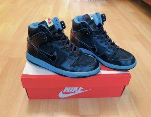 Nike Sneakers met veters turkoois-zwart