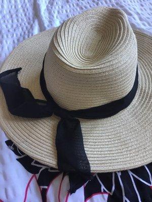 C&A Chapeau de soleil crème-noir