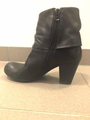 Schwarz UST Booties - 2 mal getragen