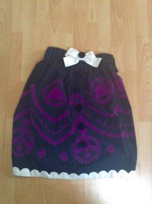 Schwarz-violetter Rock von Manoush