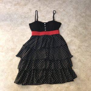 Schwarz weis gepunktetes Kleid von Mister & Lady