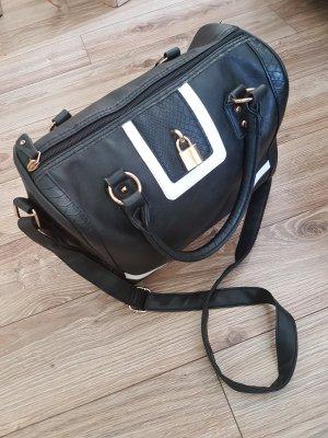 Schwarz, weise Handtasche
